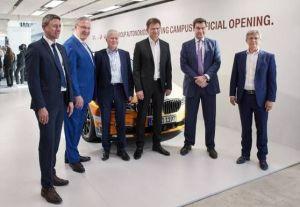 BMW inaugure son campus de conduite autonome près de Munich