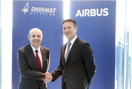 Dassault Aviation et Airbus s'associent pour développer le Système de Combat Aérien Futur