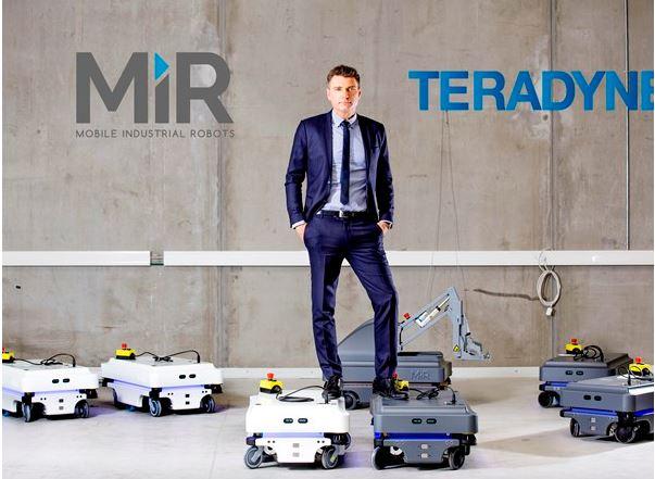 Teradyne acquiert le Danois Mobile Industrial Robots pour 121 M€