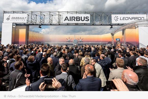 Première maquette grandeur nature pour le programme de drone MALE 100% européen