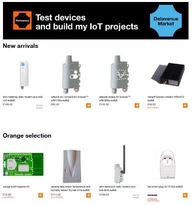 Orange lance sa place de marché dédiée à l'IoT