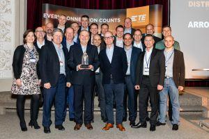 Arrow Electronics reconnu distributeur EMEA de l'année par TE Connectivity