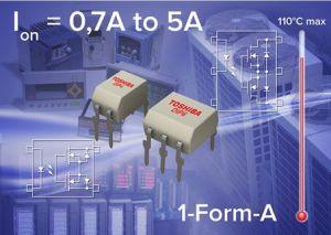 Photo-relais à courant fort pour l'automatisation industrielle | Toshiba