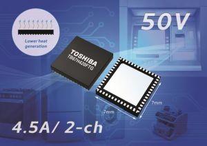 Circuit de commande de moteur à balais en boîtier CMS | Toshiba