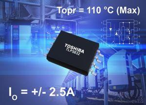 Photocoupleur driver de grille à courant de sortie crête 2,5A   Toshiba
