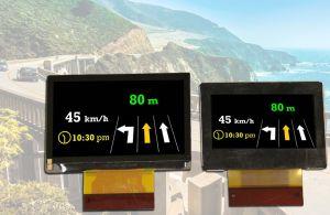 Panneaux LCD pour affichages tête haute automobiles | Kyocera