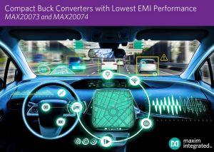 Convertisseurs synchrones à découpage pour applications automobile   Maxim