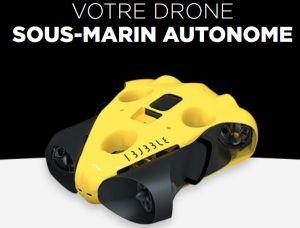 Drone sous-marin autonome : Notilo Plus lève 1,9 million d'euros
