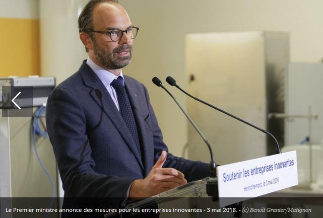 Edouard Philippe annonce le financement du plan Nano 2022