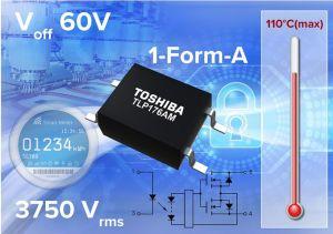 Photorelais moyenne tension pour applications industrielles | Toshiba