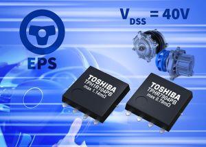 MOSFET de puissance 40V canal-N en boîtier 5 x 6 mm | Toshiba