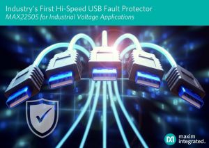 Solution de protection contre les pannes de ports USB rapides   Maxim