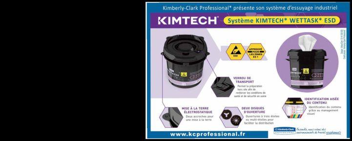 Système d'essuyage adapté au secteur de l'électronique | Kimberly-Clark Professional