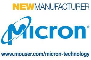 Mouser Electronics distribue les mémoires de Micron Technology