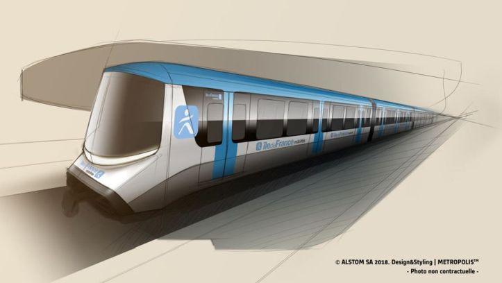 Grand Paris Express : première tranche de 280 M€ sur 1300 M€ pour Alstom