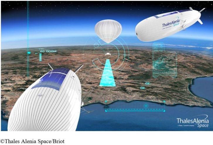 Démonstration en octobre d'un ballon stratosphérique pour applications 4G/5G