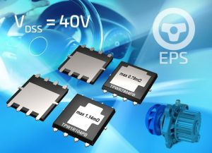 MOSFET automobiles 40V à refroidissement double face | Toshiba