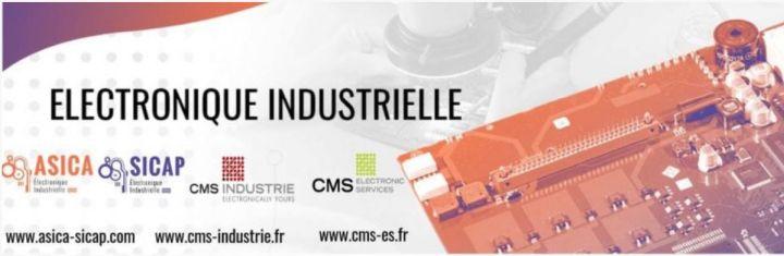 CMS Industrie & CMS Electronic Services rejoignent le groupe Asica-Sicap
