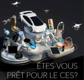 55 sociétés françaises désignées lauréates de l'innovation pour le CES 2019
