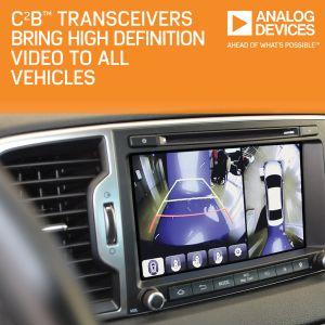 Emetteurs-récepteurs pour caméras embarquées | Analog Devices