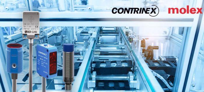 Molex annonce une collaboration avec Contrinex pour l'industrie 4.0