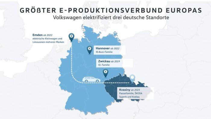 Volkswagen investit 44 milliards d'euros dans les véhicules électriques et autonomes