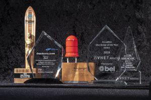 Cinq fabricants récompensent Avnet Abacus pour l'excellence de sa distribution