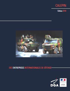 Le calepin des entreprises internationales de Défense 2018 est en ligne
