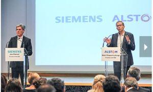 Siemens et Alstom soumettent un ensemble de remèdes à la Commission européenne