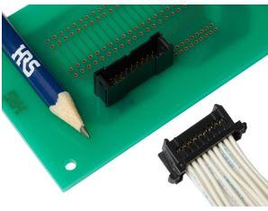 Connecteurs carte à fils robustes au pas de 2 mm   Hirose
