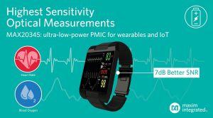 Circuit PMIC pour wearables et dispositifs IoT | Maxim