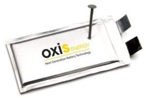 Batteries : Safran investit dans OXIS Energy