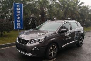 Le groupe PSA démarre ses essais de conduite autonome en Chine
