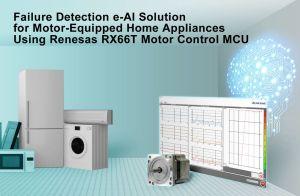 Détection via e-AI des pannes dans l'électroménager | Renesas