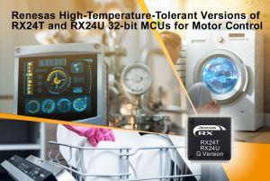 Microcontrôleurs pour commande de moteur tolérants aux températures élevées   Renesas
