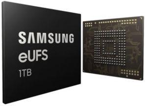 Samsung lance la première mémoire flash embarquée de 1To