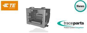 Plus de 120 000 produits de TE Connectivity désormais disponibles via la bibliothèque de fichiers 3D de TraceParts