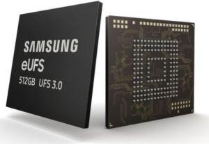 Samsung Electronics double la vitesse de stockage avec la première eUFS3.0 de 512Go du marché
