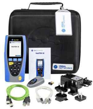 Testeur portable pour réseaux Ethernet industriels et câblages | Ideal Networks