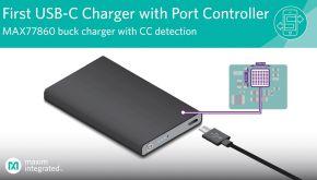 Chargeur dévolteur USB-C avec gain de place de 30% | Maxim