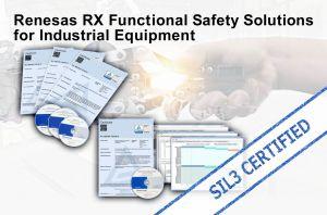 Solution de sécurité fonctionnelle sur microcontrôleur avec certification logicielle SIL3 | Renesas