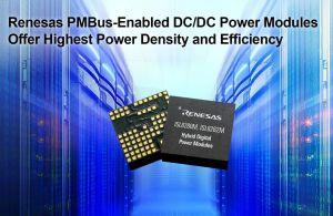 Modules de puissance PMBus 10A et 15A | Renesas