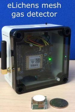 Capteur optique pour détection des fuites de gaz | eLichens