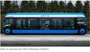 Mersen choisi pour équiper le premier bus 100% électrique d'Alstom