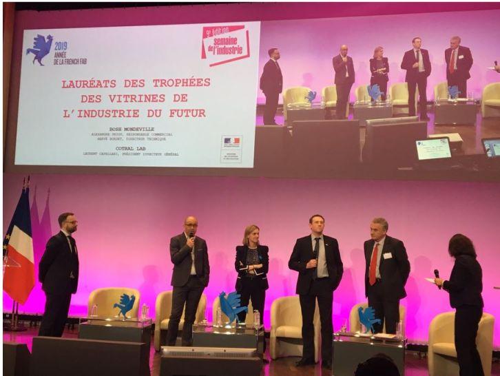 Bosch EMS Mondeville obtient le label « Vitrine Industrie du Futur »