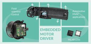 Circuit de commande de moteur intelligents embarqués | Melexis