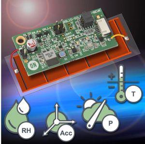 Plateforme multi-capteurs Bluetooth LE pour l'IoT sans batterie | ON Semiconductor