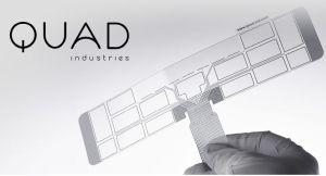 Capteurs imprimés souples : Novares prend une part minoritaire de Quad Industries