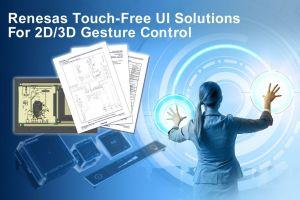 Solutions pour interfaces utilisateurs sans contact   Renesas