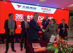 Saft crée une co-entreprise en Chine dans le lithium-ion